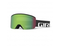 GIRO Axis Black Wordmark Vivid Emerald/Vivid Infrared (2Skla)