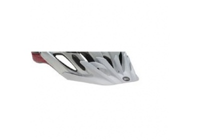 BELL Event XC-mat white/red/black spd fade Visor