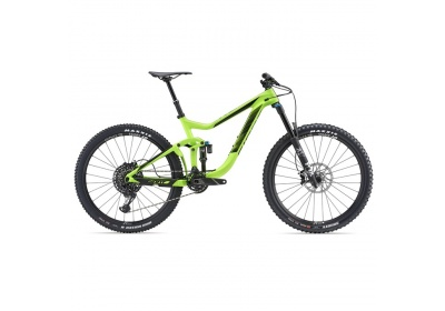 GIANT Reign Advanced 1 2018 L-neon green