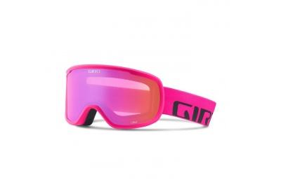 GIRO Cruz Bright Pink Wordmark Amber Pink