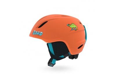 GIRO Launch Mat Deep Orange Dino XS