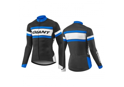 GIANT Rival LS Jersey-black/blue-S