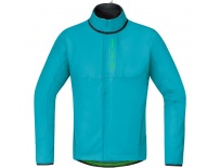 GORE Power Trail WS Soft Shell Thermo Jacket-scuba blue-L