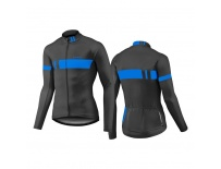 GIANT Podium LS Thermal Jersey-black/blue-XL
