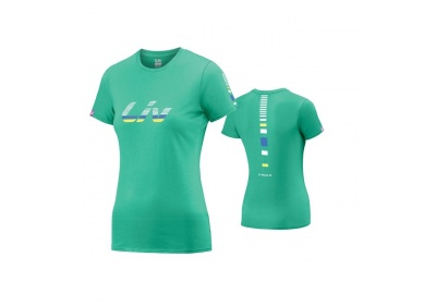 LIV Signature Cotton T-Shirt-green-M