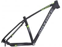 """rám Maxbike M709 2020 15"""" černý mat + zelená"""