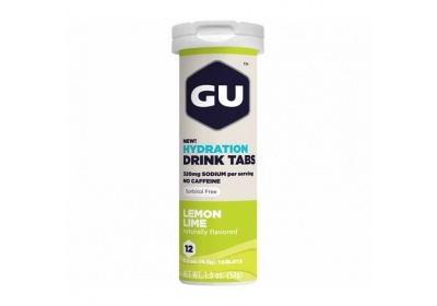 GU Hydration Drink Tabs 54 g - Lemon/Lime 1 tuba (balení 8ks)