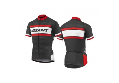 GIANT Rival SS Jersey-black/red-XXL