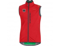GORE 30th Element WS Active Shell Vest-red-M