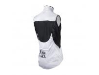 GIANT Superlight Wind Vest white/black S