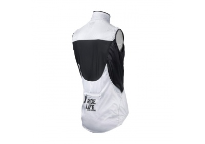 GIANT Superlight Wind Vest white/black S