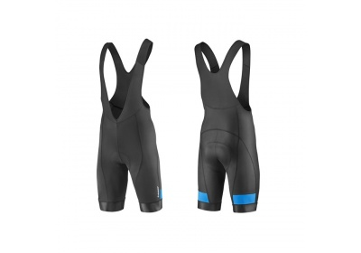 GIANT Rival Bibshort-black/cyan-M