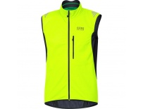 GORE Element WS SO Vest-neon yellow/black-M