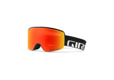 GIRO Axis Black Wordmark Vivid Ember/Vivid Infrared (2skla)