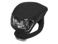 blikačka MAXBIKE JY-267F přední, silikonová černá