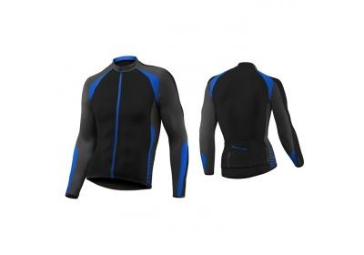 GIANT Streak L/S Jersey black/blue S