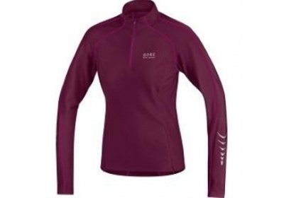GORE Contest Thermo Lady Jersey-shiraz red/thai pink-40