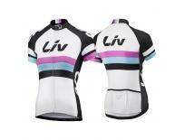 LIV Race Day SS Jersey-white/black-L