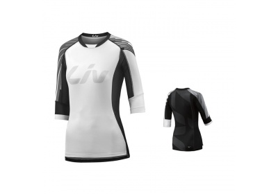 LIV Tangle 3/4 L Off-road Jersey-white/black-XL