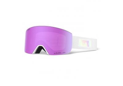 GIRO Ella White Iridescent Vivid Pink/Vivid Infrared (2skla)