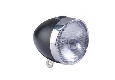 světlo MAXBIKE přední JY-237, retro design, 3diody bez držáku