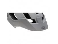 BELL Stoker Visor-mat white/silver braille