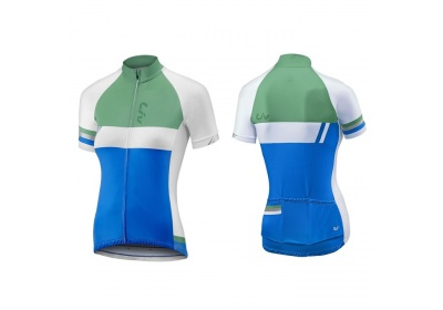 LIV Capitana SS Jersey-blue/green-XL