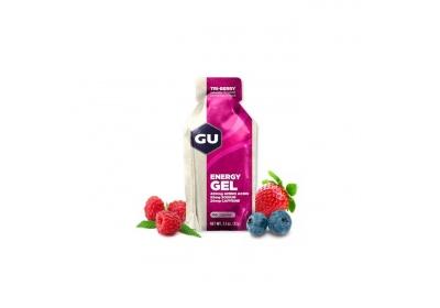GU Energy Gel 32 g - Tri Berry 1 SÁČEK (balení 24ks)