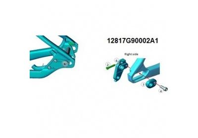 XtC Advanced 29r 20017 A6061-T6 Horizontal Sliding R