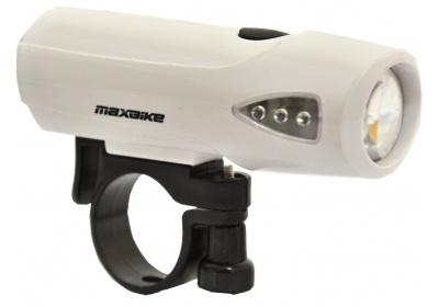 světlo MAXBIKE přední JY-224, bílé, 1 Watt