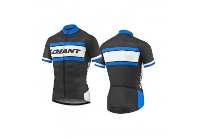 GIANT Rival SS Jersey-black/blue vel. S