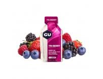 GU Energy Gel 32 g-tri berry 1 SÁČEK (balení 24ks)