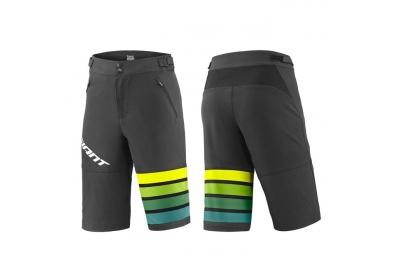 GIANT Transfer Short-black/yellow/green-XL
