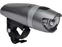 světlo MAXBIKE JY-365 přední,  šedé 3 Watty