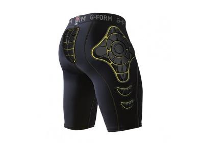 G-Form PRO-X Compression Shorts-black/yellow-XL