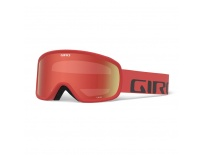 GIRO Cruz Red Wordmark Amber Scarlet