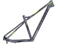 "rám Maxbike M909 2020 21"" šedý mat + žlutá reflex"