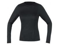GORE M Women Base Layer Long Sleeve Shirt-black-42