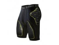 G-Form PRO-T Team Compression Shorts-black/yellow-XL